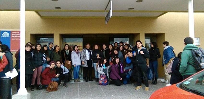 Estudiantes de Ingeniería en Comercio Internacional visitaron el Puerto Terrestre de Los Andes